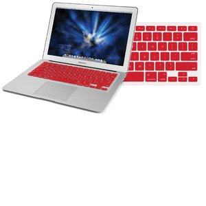 "NewerTech NuGuard Keyboard Cover - Red Color. For use with 13"" MacBook Air 2010."