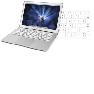 "NewerTech NuGuard Keyboard Cover - White Color. For use with 13"" MacBook Air 2010."