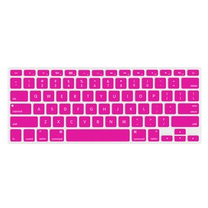 "NewerTech NuGuard Keyboard Cover for 2011-15 MacBook Air 13"", All MacBook Pro Retina - Pink Color."