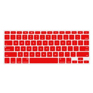 "NewerTech NuGuard Keyboard Cover for 2011-15 MacBook Air 13"", All MacBook Pro Retina - Red Color."