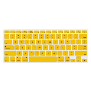 "NewerTech NuGuard Keyboard Cover for 2011-15 MacBook Air 13"", All MacBook Pro Retina - Yellow."