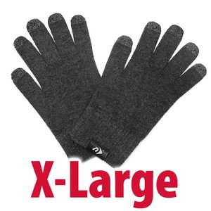 NewerTech NuTouch Gloves. Size: X-Large. Color: Charcoal.