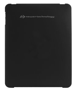 NewerTech NuGuard Hard Shell Black Polycarbonate Case for iPad.