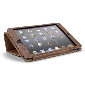 NewerTech The Pad Protector mini - Slim Leather Folio for Apple iPad mini. Cognac