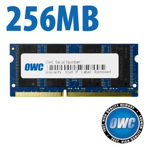 256MB PC100 CL2 SO-DIMM Low-Profile for select G3 models (see more info)