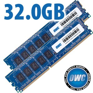 32.0GB (4x 8GB) DDR3 ECC PC10600 1333MHz SDRAM ECC for Mac Pro 'Nehalem' & 'Westmere' models