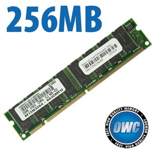 256MB PC133 CL3 168 Pin SDRam for ALL Power Mac G4 Models 350-1GHz*