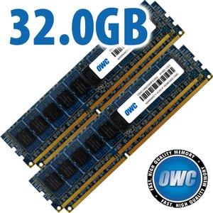32.0GB Mac Pro Late 2013 Memory Matched Set (4x 8GB) PC3-14900 1866MHz DDR3 ECC Modules