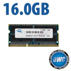 16.0GB 1867MHz DDR3 SO-DIMM PC3-14900 SO-DIMM 204 Pin CL11 Memory Upgrade