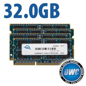 32.0GB 1867MHz DDR3 SO-DIMM PC3-14900 SO-DIMM 204 Pin CL11 Memory Upgrade Kit