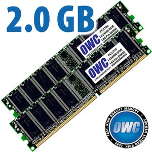 2.0GB PC2700 Memory Upgrade Kit - (2x 1GB) Matched Pair of DDR SDRAM 333MHz CAS 2.5 184 Pin