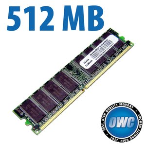 512MB PC2700 DDR 333MHz CL2.5 184 Pin SDRAM Module
