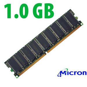 1.0GB PC3200 DDR 400MHz ECC 184 Pin DIMM CMTL Certified