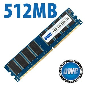 512MB PC3200 DDR 400MHz CAS 3.0 184 Pin 64x64 DIMM Module