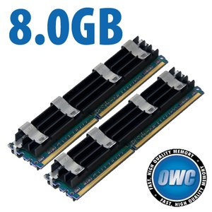 8.0GB Mac Pro Memory Matched Set (2x 4GB) PC5300 DDR2 ECC 667MHz 240 Pin FB-DIMM Modules