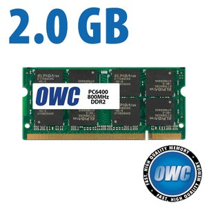 (*) 2.0GB PC-6400 DDR2 800MHz SO-DIMM 200 Pin Memory Module