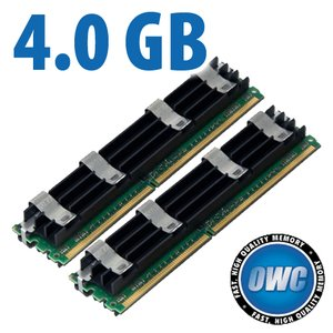 4.0GB Mac Pro Memory Matched Pair (2x 2GB) PC6400 DDR2 ECC 800MHz 240 Pin FB-DIMM Modules