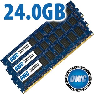 24.0GB Mac Pro / Xserve 2009 Memory Matched Set (3x 8GB) PC-8500 1066MHz DDR3 ECC SDRAM Modules