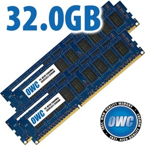 32.0GB Mac Pro Early 2009 Memory Matched Set (4x 8GB) PC-8500 1066MHz DDR3 ECC SDRAM Modules
