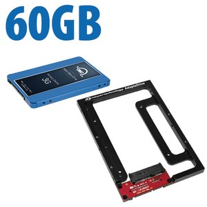 DIY Kit: NewerTech AdaptaDrive + 60GB OWC Electra 3G Solid-State Drive Bundle.