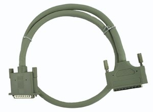 "0.9 Meter (36"") SCSI Cable: External Shielded 68pin Wide to DB25"