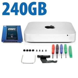 DIY Kit: Data Doubler + 240GB Electra 6G SSD Bundle for Mac mini 2011 and 2012 models.