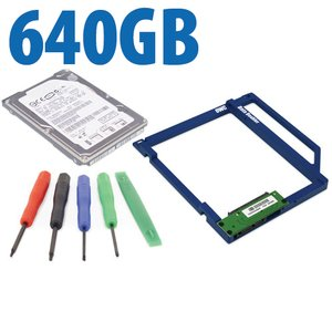 DIY Kit: Data Doubler + 640GB Seagate 5400RPM Drive Bundle + 5 Piece Toolkit.