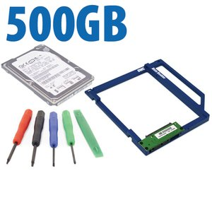 DIY Kit: Data Doubler + 500GB 7200RPM Hard Drive Bundle + 5 Piece Toolkit.
