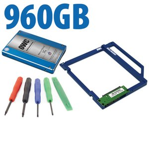 DIY Kit: Data Doubler + 960GB OWC Mercury Electra MAX 3G SSD Drive Bundle + 5 Piece Toolkit.