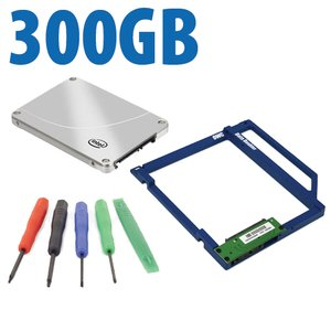 DIY Kit: Data Doubler + 300GB Intel 710 Series SSD Drive Bundle + 5 Piece Toolkit.