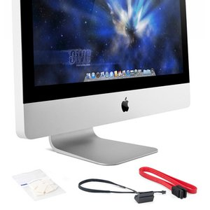 "DIY Kit for all Apple 21.5"" iMac 2011 Models for installing an internal SSD. Without tools."