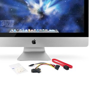 "DIY Kit for all Apple 27"" iMac 2010 Models for installing an internal SSD. Without tools."
