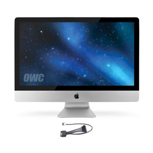 "OWC HDD Compatibility for all Apple 2011 iMac 21.5"" and 27"" Models with SMC Compatibility."