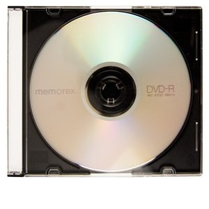 OWC 16X DVD-R 4.7GB Blank DVD Media - Single Disc in Slimline Jewel Case