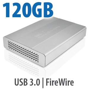 120GB OWC Mercury Elite Pro mini portable SSD FW800/400 + USB3.0 storage solution
