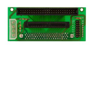 SCA 80pin to Standard 68 and Standard 50pin w/ Selectable Active Termination