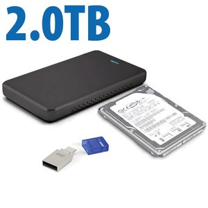 Drive Upgrade Kit for Sony PlayStation 4: 2.0TB HDD Internal upgrade w/Flash Drive, Tool, & More