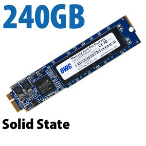 240GB OWC Aura 6G Solid-State Drive for 2010-2011 MacBook Air.