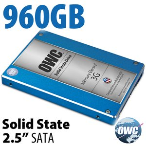 960GB Mercury Electra MAX 3G 2.5-inch 9.5mm SATA 3.0Gb/s Solid-State Drive