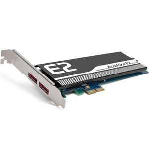 120GB OWC Mercury Accelsior E2 PCI Express High-Performance SSD with eSATA Expansion Ports