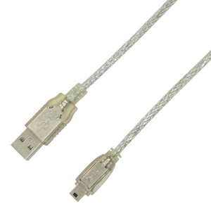 "1.0 Meter (39"") OWC USB 2.0 A to 5 Pin Mini B Cable for digital cameras, cellphones, hard drives"