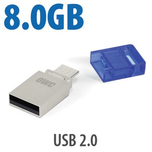 8.0GB OWC Dual USB Flash Drive