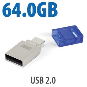 64.0GB OWC Dual USB Flash Drive
