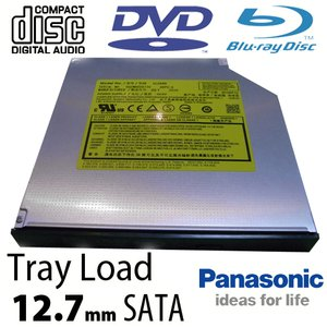 Panasonic 6X Blu-ray Burner + Super-MultiDrive DVD/DVD DL/CDRW Read/Write - Serial-ATA Internal Tray