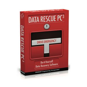 Data Rescue PC3 by Prosoft Engineering - Emergency Hard Drive Recovery and File Recovery for PC.