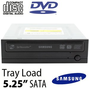 "Samsung SpeedPlus 22X 5.25"" Internal DVD/CD Writer w/LightScribe - Up to 22X DVD, 48X CD Burning"