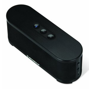 Scosche boomSTREAM Bluetooth Wireless Media Speaker BTSPK2. Black Color.