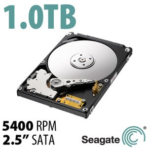 1.0TB Seagate Momentus/Samsung Spinpoint M8 2.5-inch 9.5mm SATA 3.0GB/s 5400RPM Hard Drive
