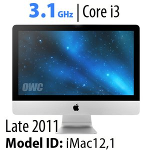 "Apple 21.5"" iMac (2011) 3.1GHz Core i3: 4GB RAM, 250GB HDD, SuperDrive. Used, Asset Tagged."