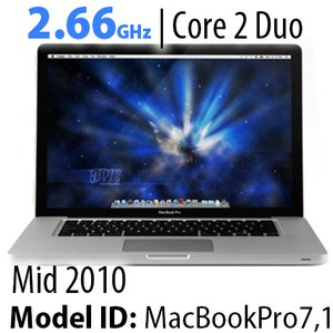 "Apple 13"" MacBook Pro 2.66GHz Core 2 Duo: 8GB RAM, 120GB SSD, 1.0TB HDD, SuperDrive. Used"